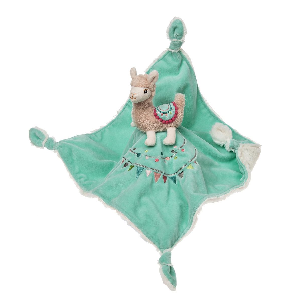 Doudou noeuds - Lily Lama-1