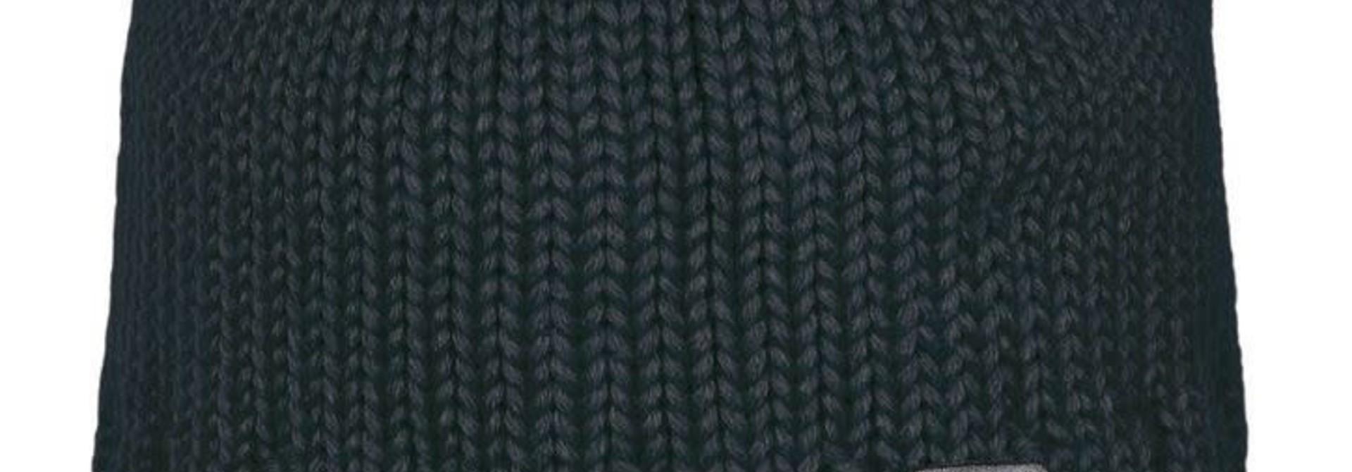 Bonnet en tricot - Noir