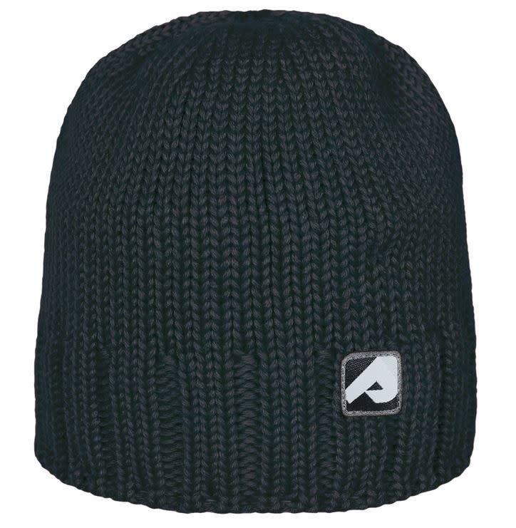 Bonnet en tricot - Noir-1