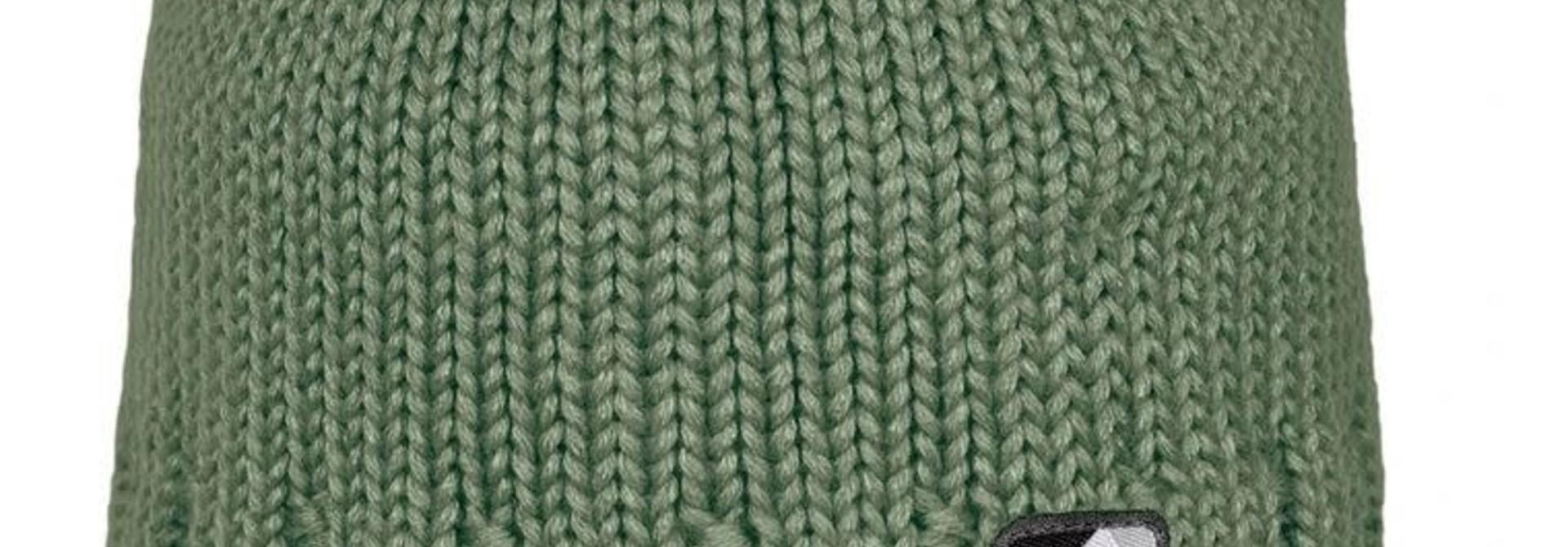 Bonnet en tricot - Kaki
