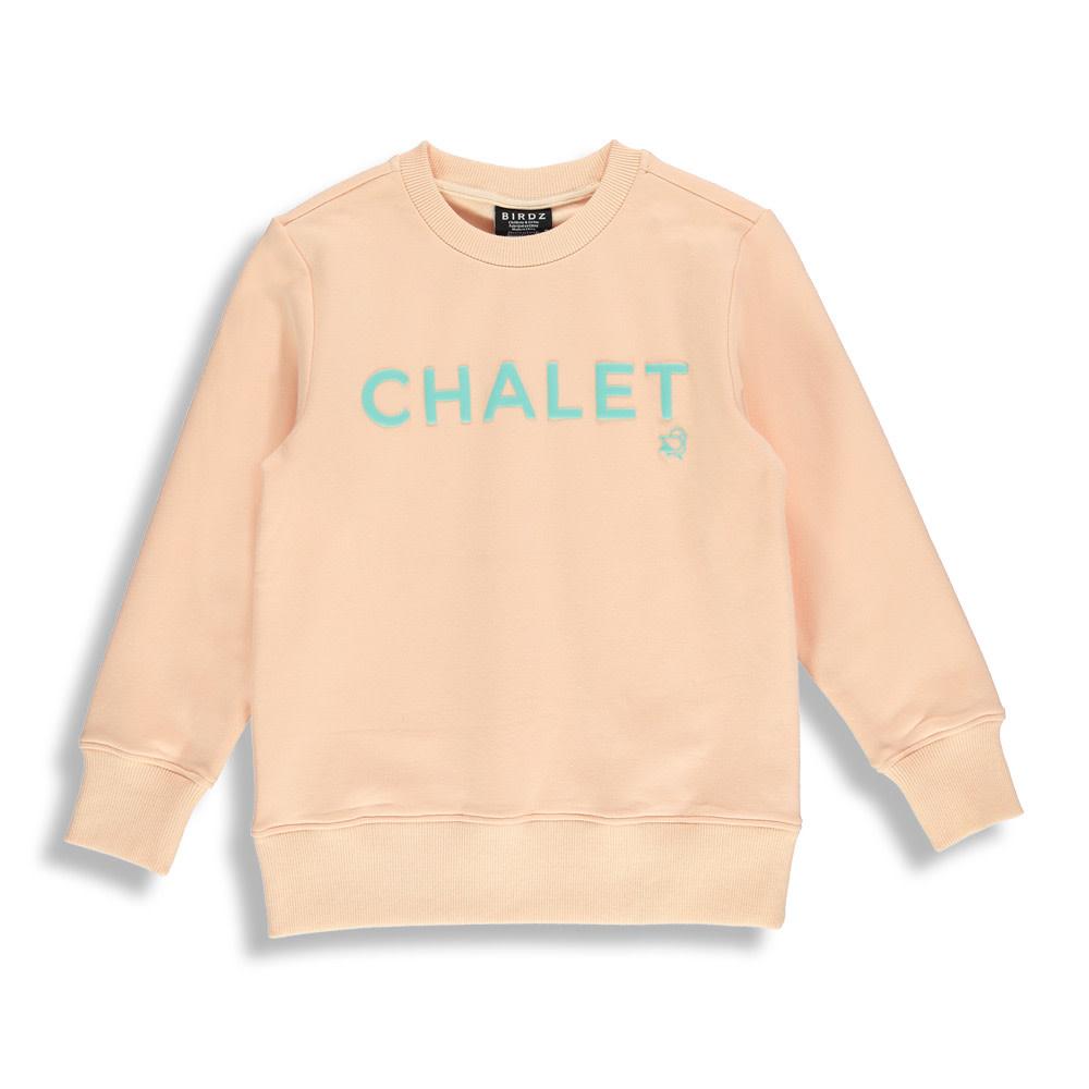 Coton ouaté Pêche - CHALET-1
