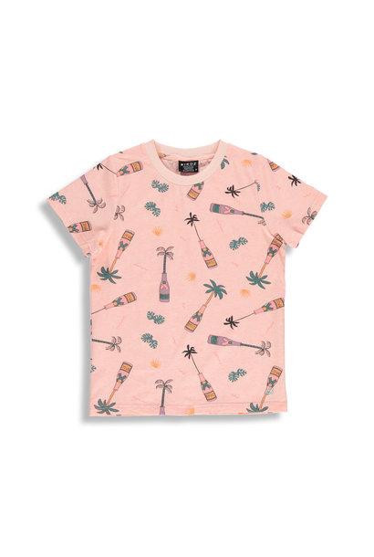 T-shirt pêche - CHAMPAGNE