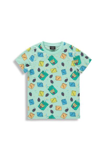 T-shirt menthe - BREAKFAST