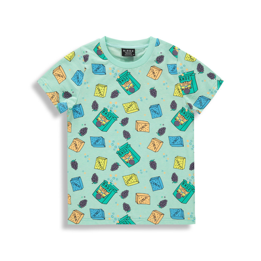 T-shirt menthe - BREAKFAST-1