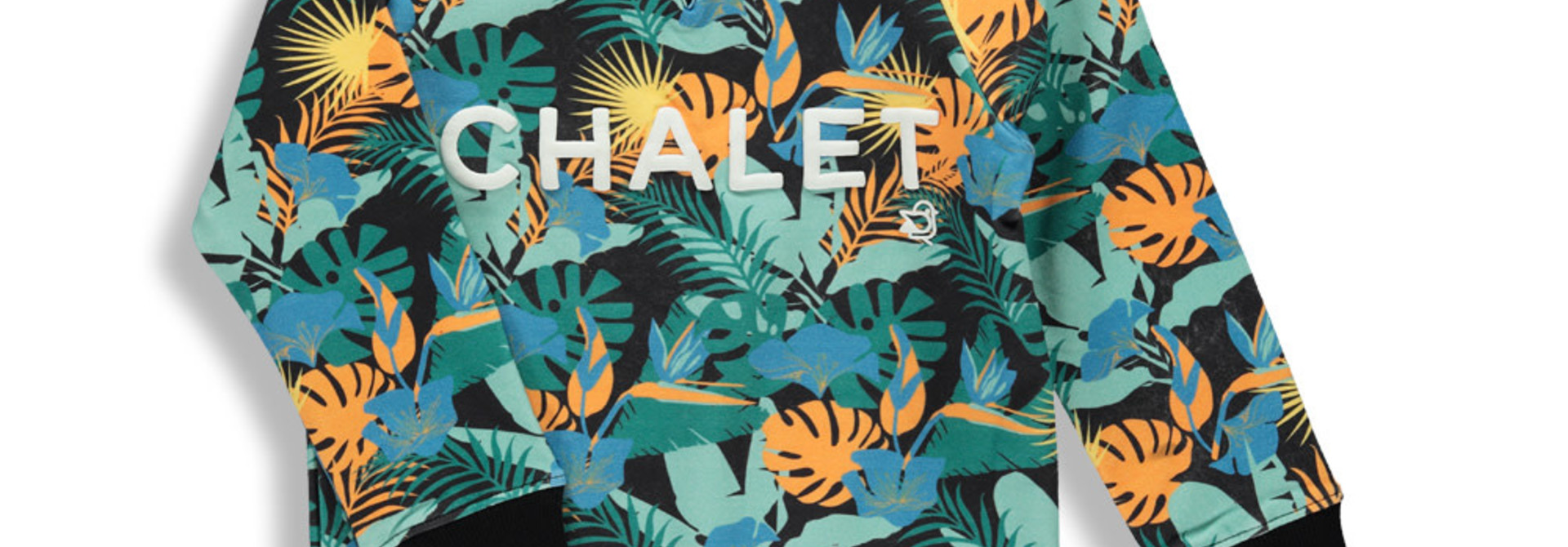 Coton ouaté Jungle noire - CHALET