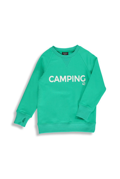 Coton ouaté Aqua vert - CAMPING