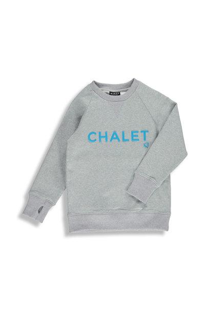 Coton ouaté gris - CHALET