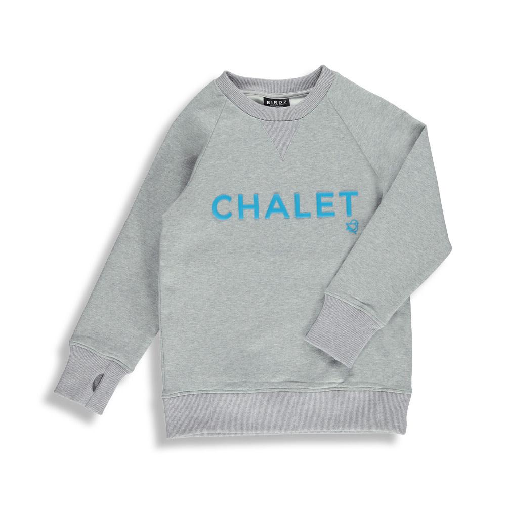 Coton ouaté gris - CHALET-1