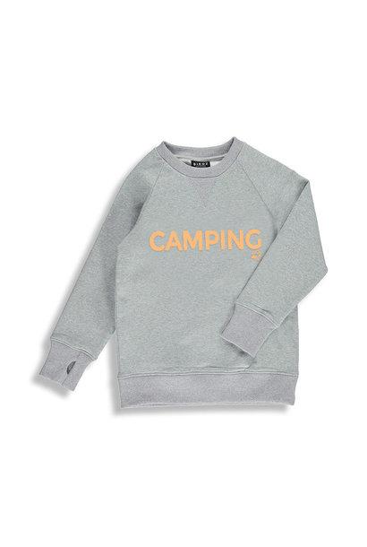 Coton ouaté gris - CAMPING