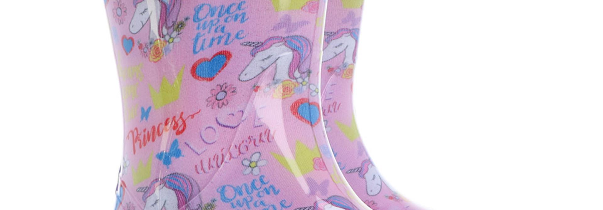 Bottes mi-saison - Licornes