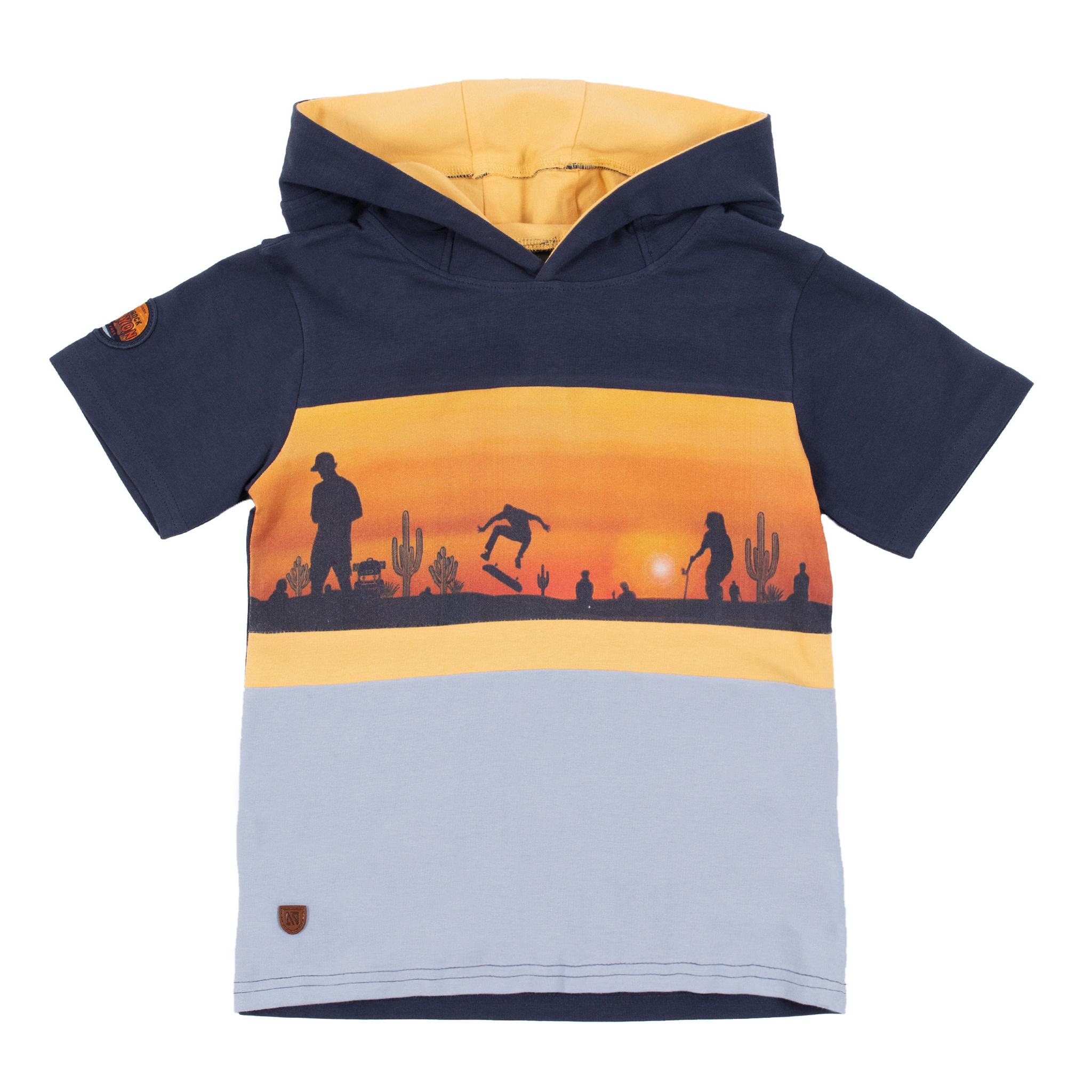 T-shirt à capuchon Desert du Nevada-1