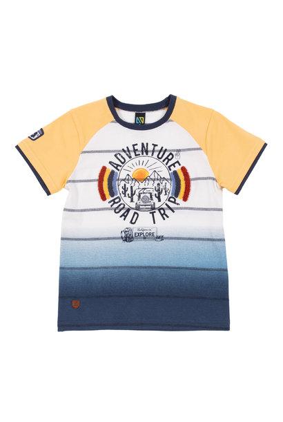T-Shirt avec manches raglan Desert du Nevada