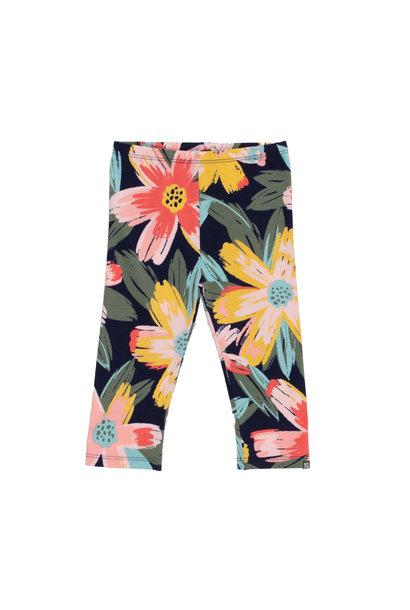 Legging 3/4 à motif floral Bonjour soleil