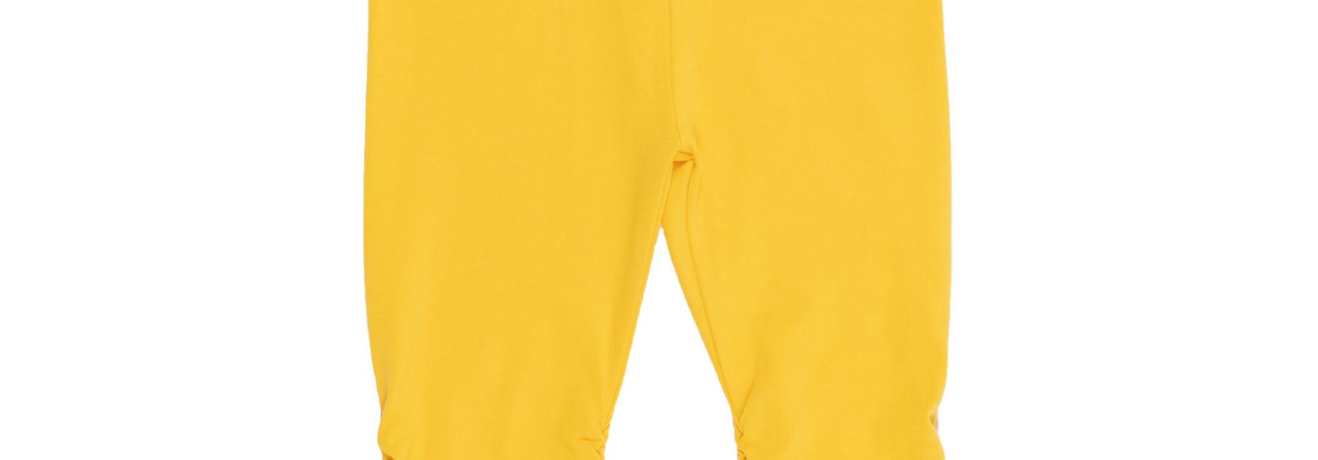 Legging 3/4 jaune Bonjour soleil
