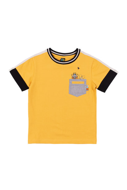 T-Shirt en jersey uni club des insectes