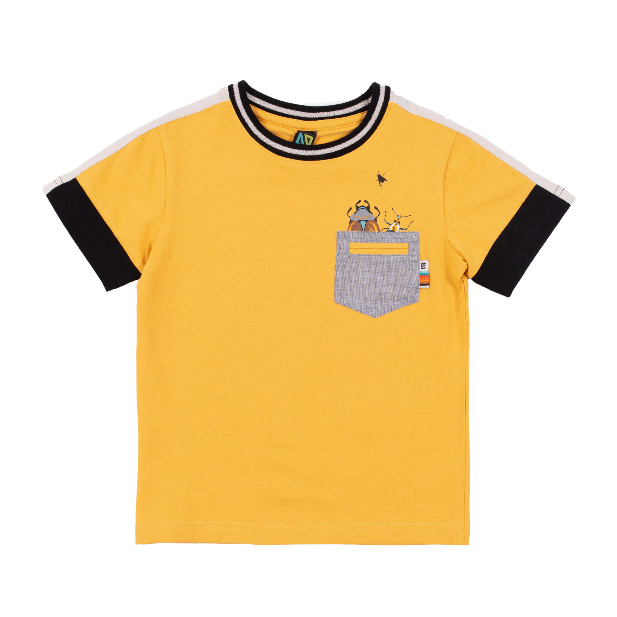 T-Shirt en jersey uni club des insectes-1