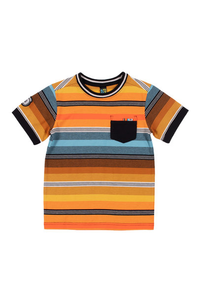 T-Shirt à rayures club des insectes