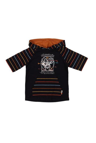 T-shirt à capuchon club des insectes