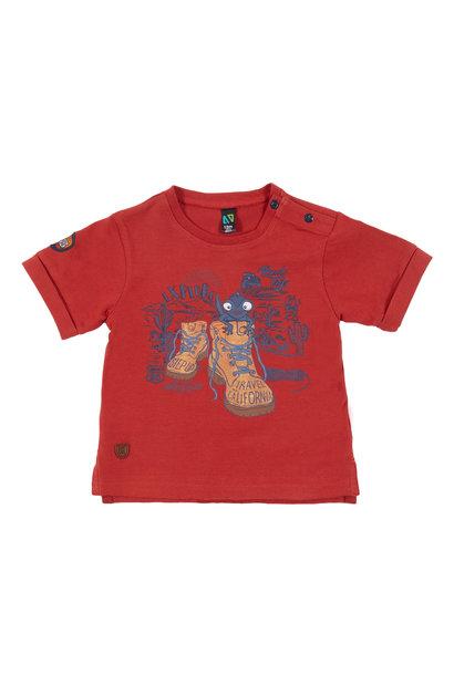 T-Shirt avec imprimé Sur le pouce!