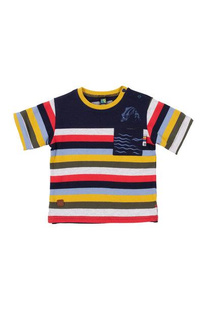 T-Shirt avec poche Comme un poisson