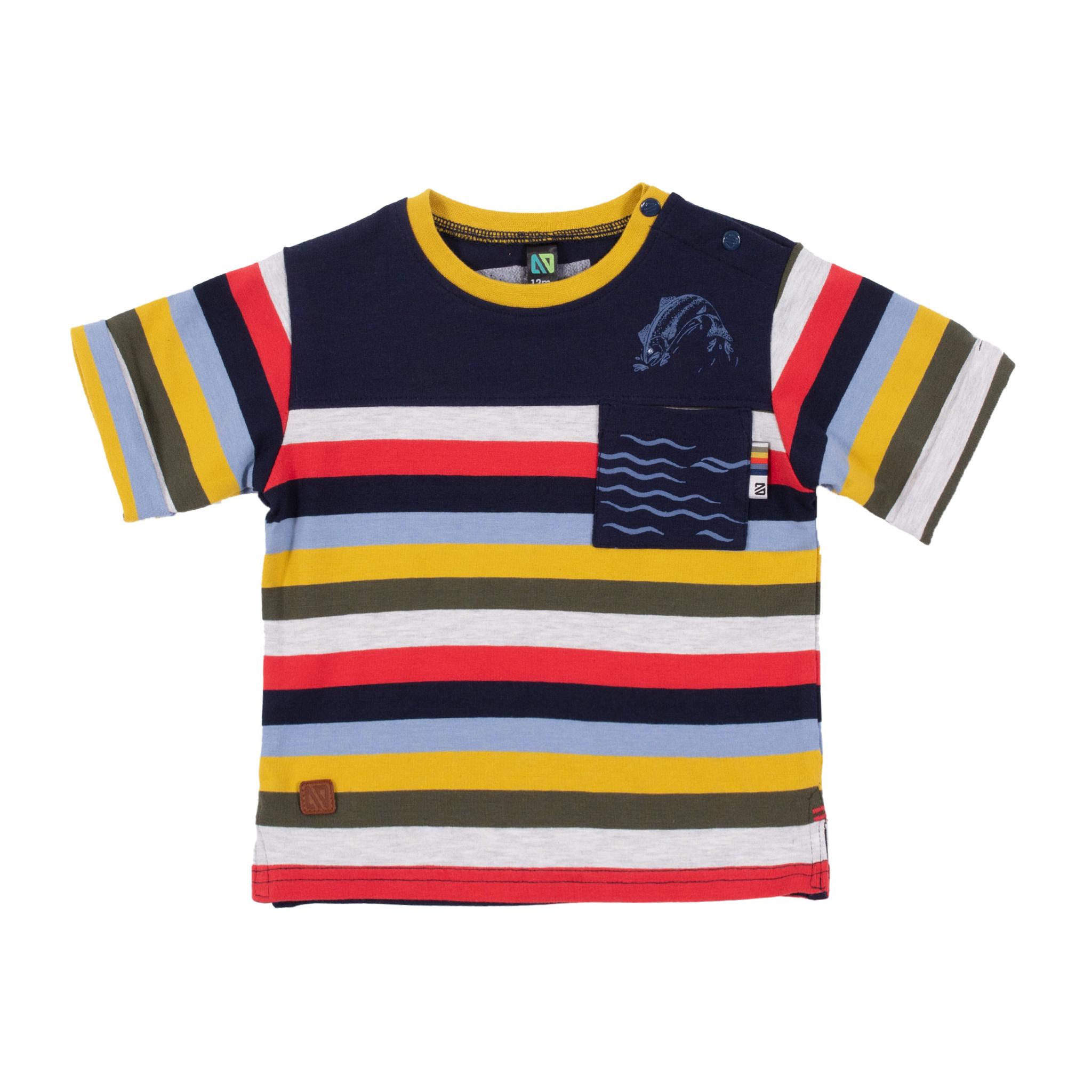 T-Shirt avec poche Comme un poisson-1
