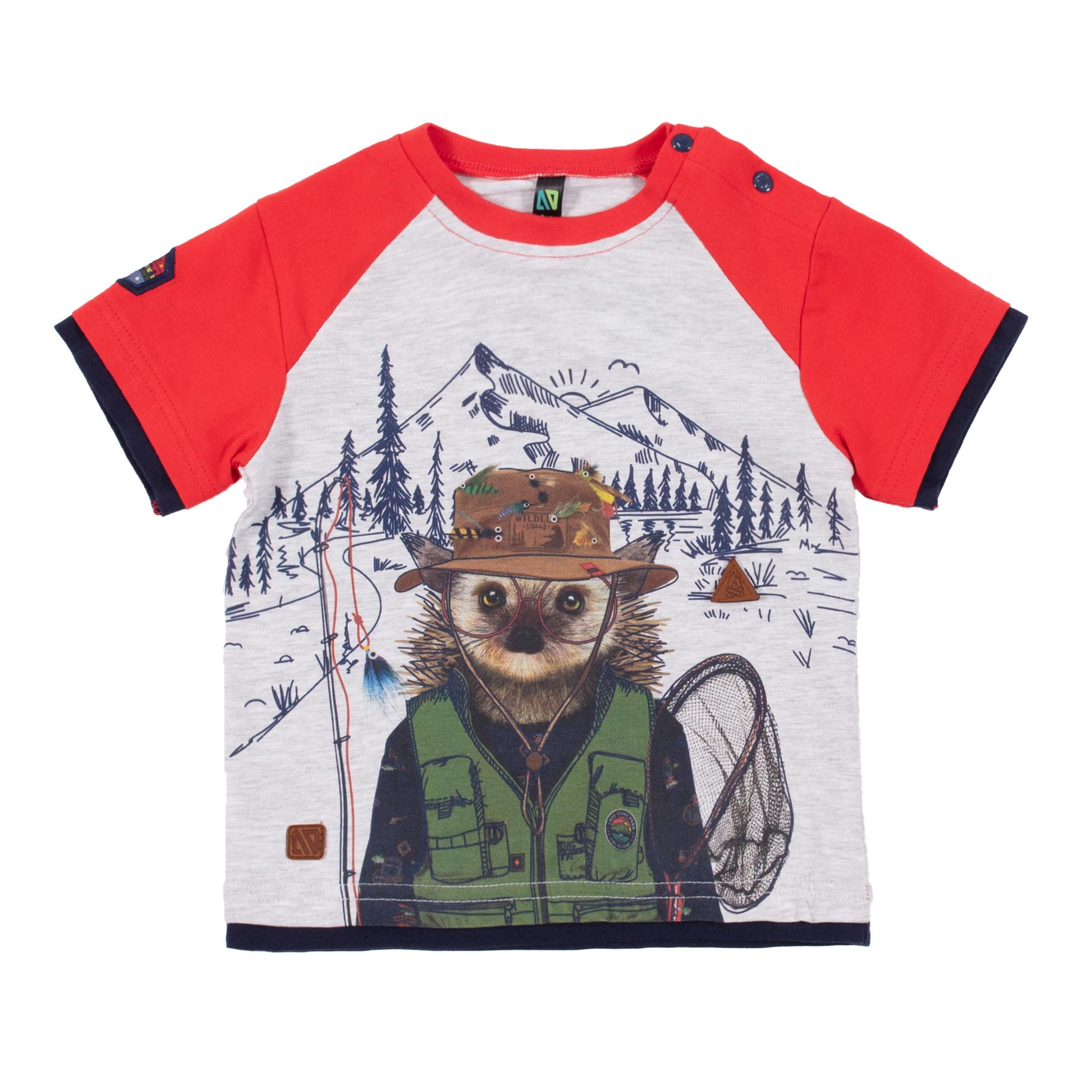 T-Shirt avec illustration Comme un poisson-1