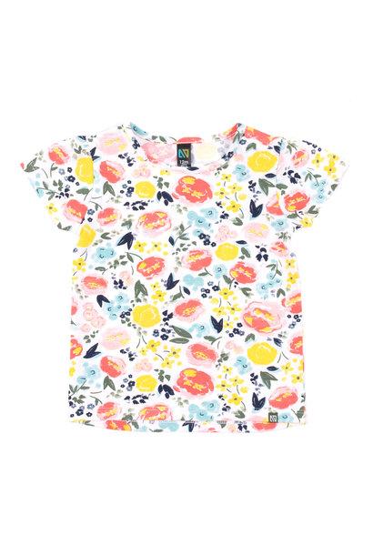 T-Shirt à motif floral Rayon de soleil