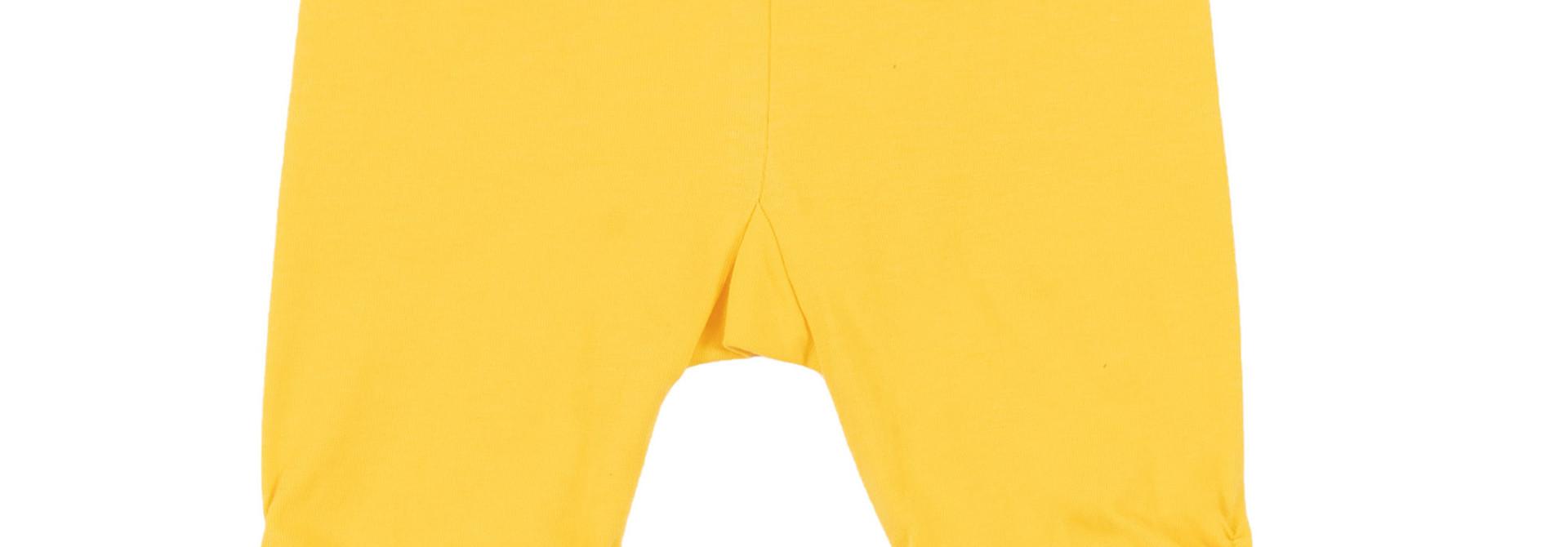 Legging 3/4 jaune Rayon de soleil