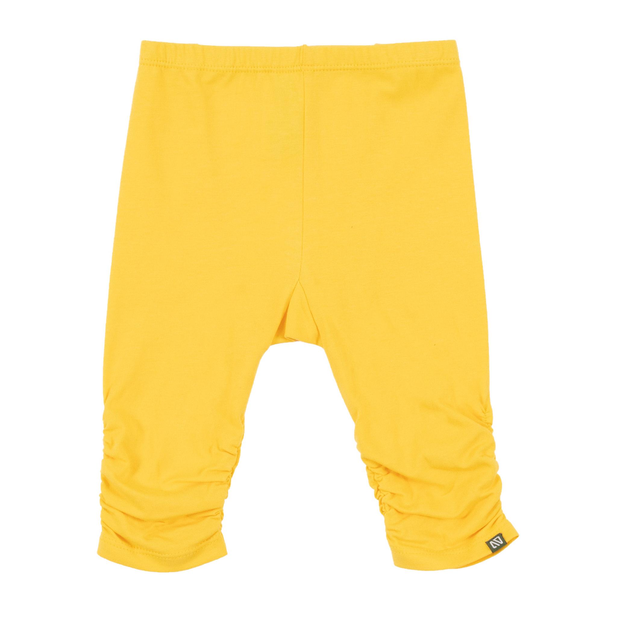 Legging 3/4 jaune Rayon de soleil-1