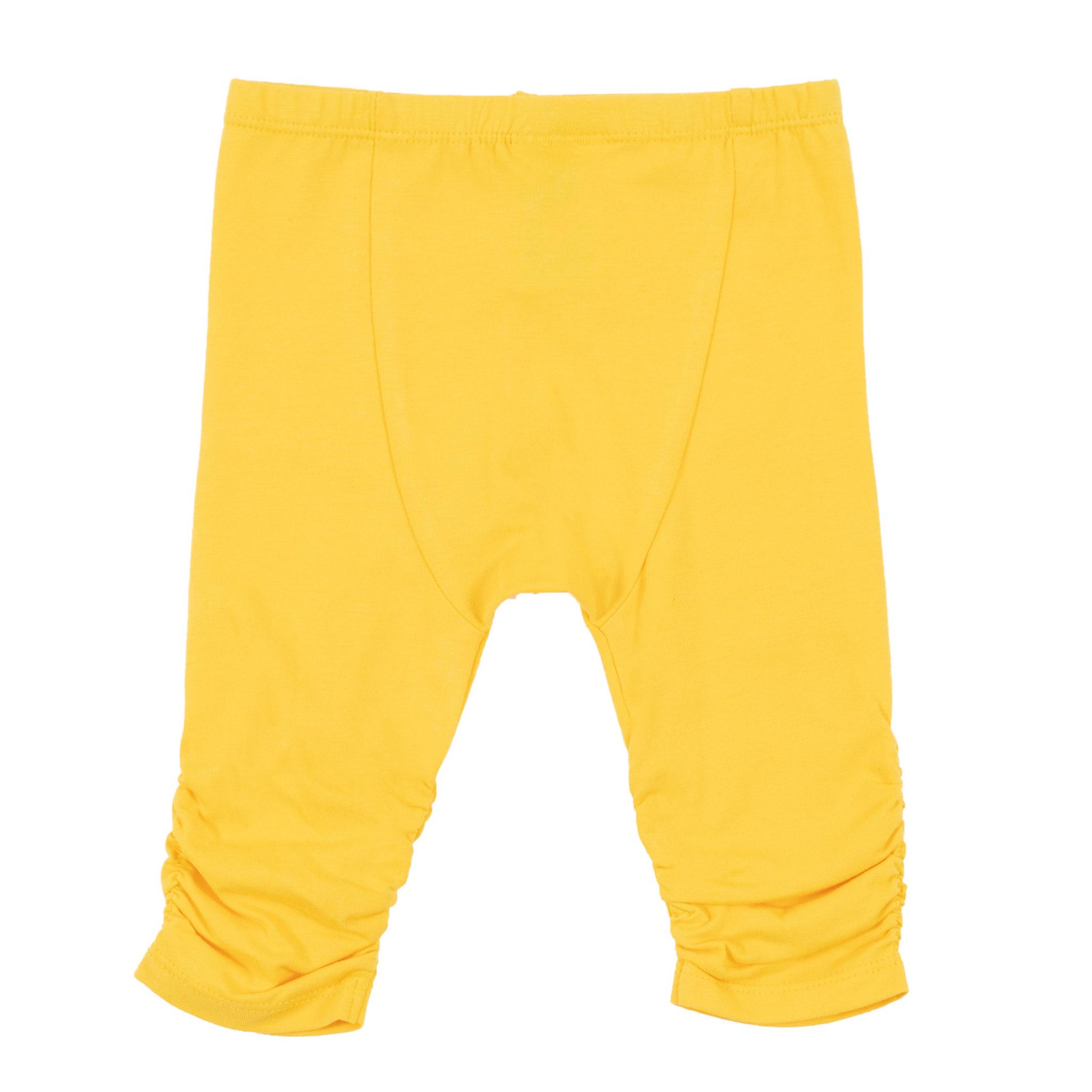 Legging 3/4 jaune Rayon de soleil-2