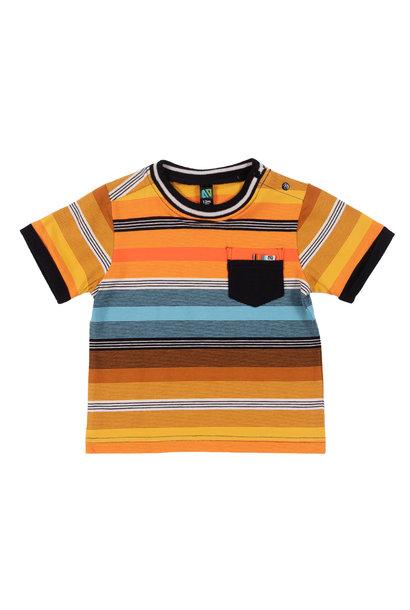 T-Shirt à rayures Mini club des insectes