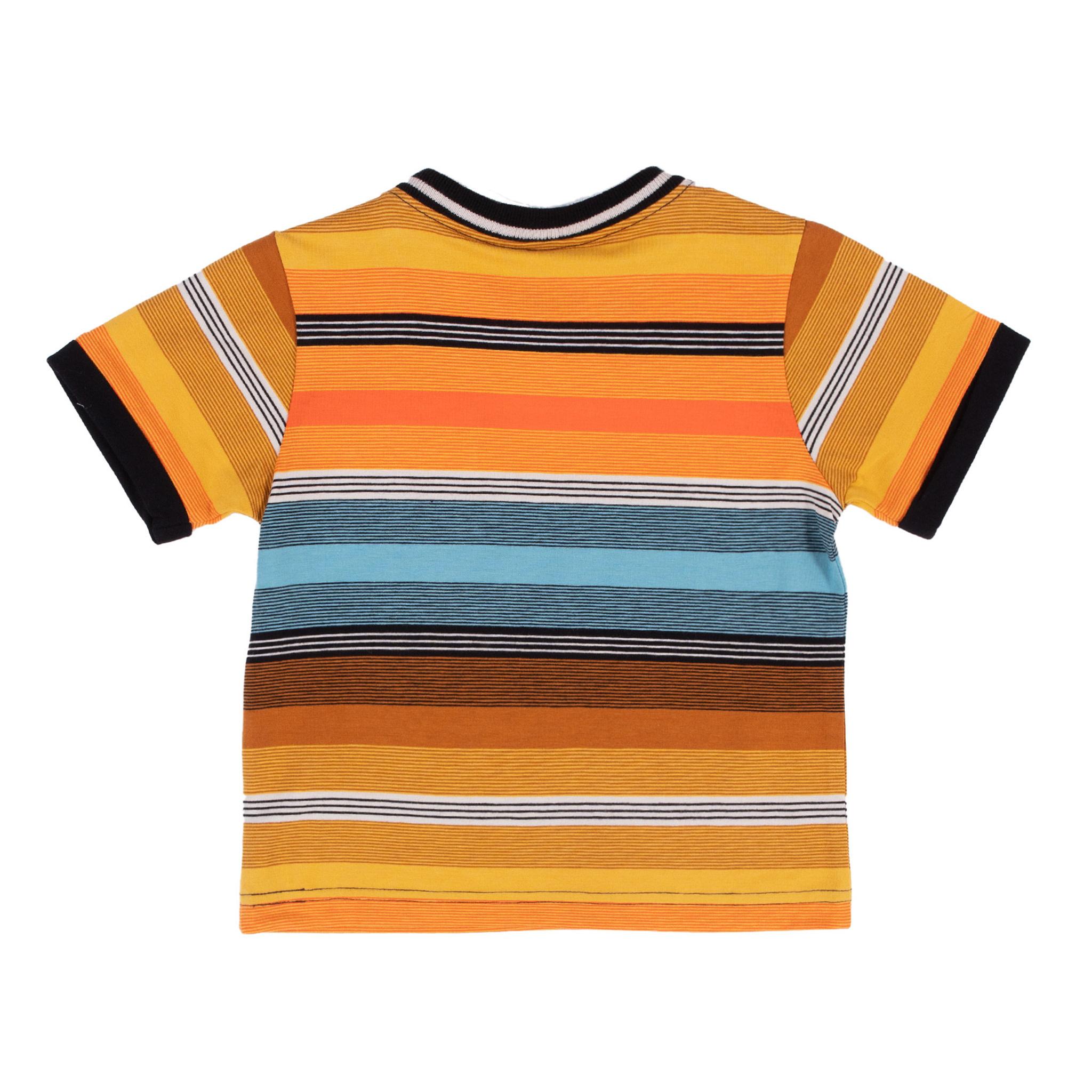T-Shirt à rayures Mini club des insectes-2
