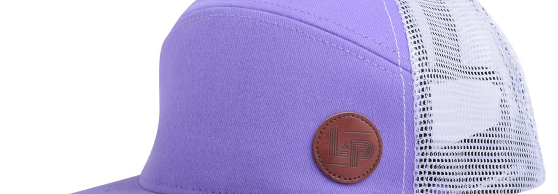 Casquette Trucker snapback - Orleans Purple