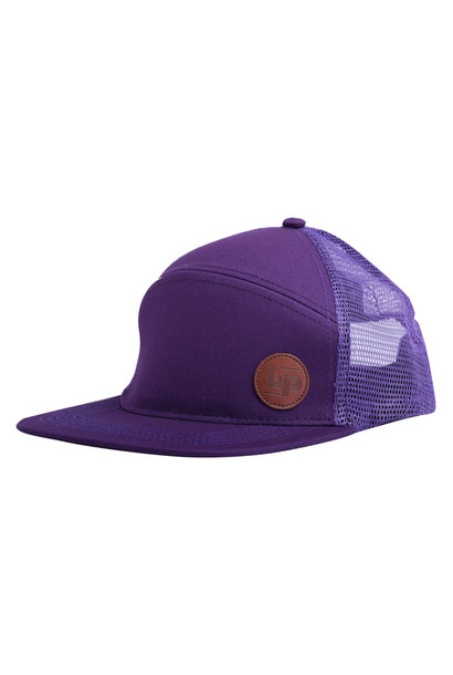 Casquette Trucker snapback - Orleans All Purple