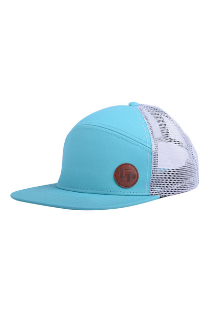 Casquette Trucker snapback - Orleans Turquoise