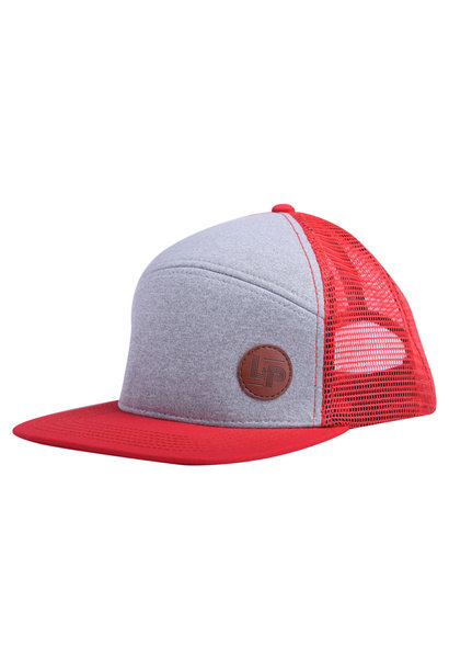 Casquette Trucker snapback - Orleans Red