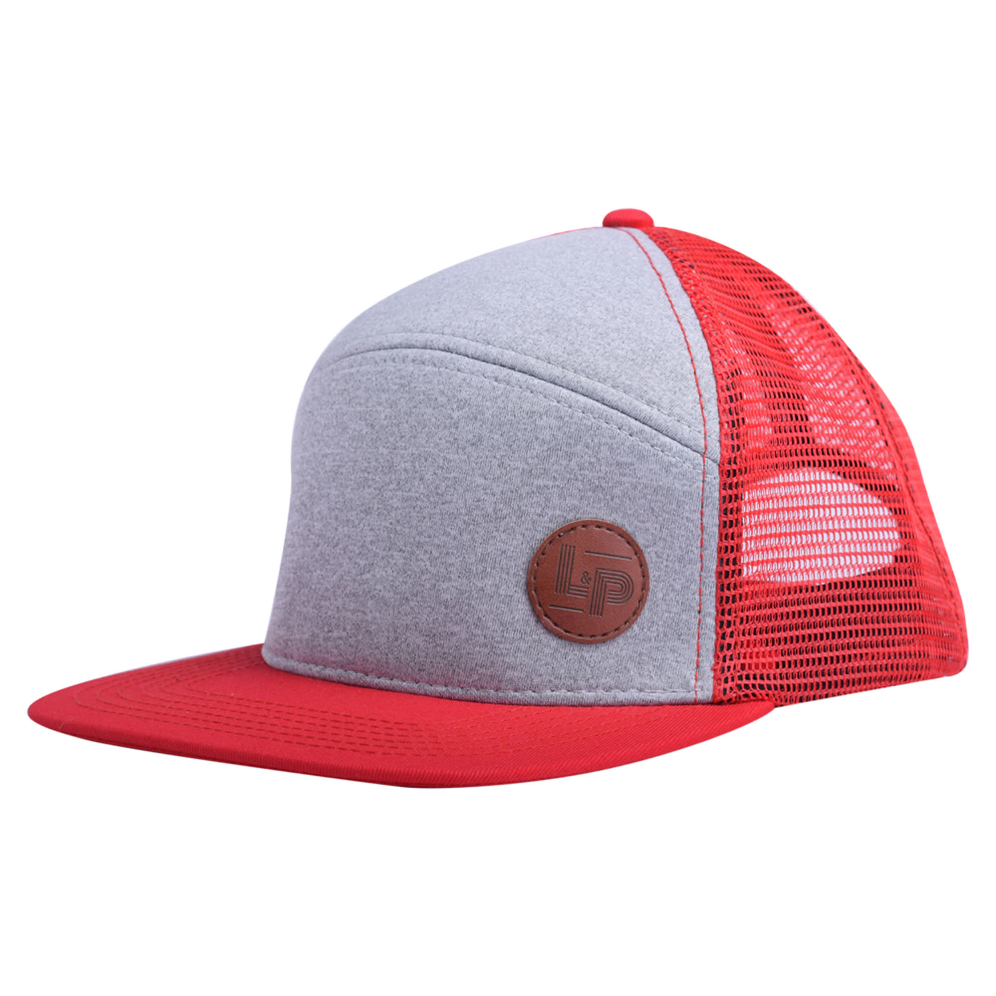 Casquette Trucker snapback - Orleans Red-1