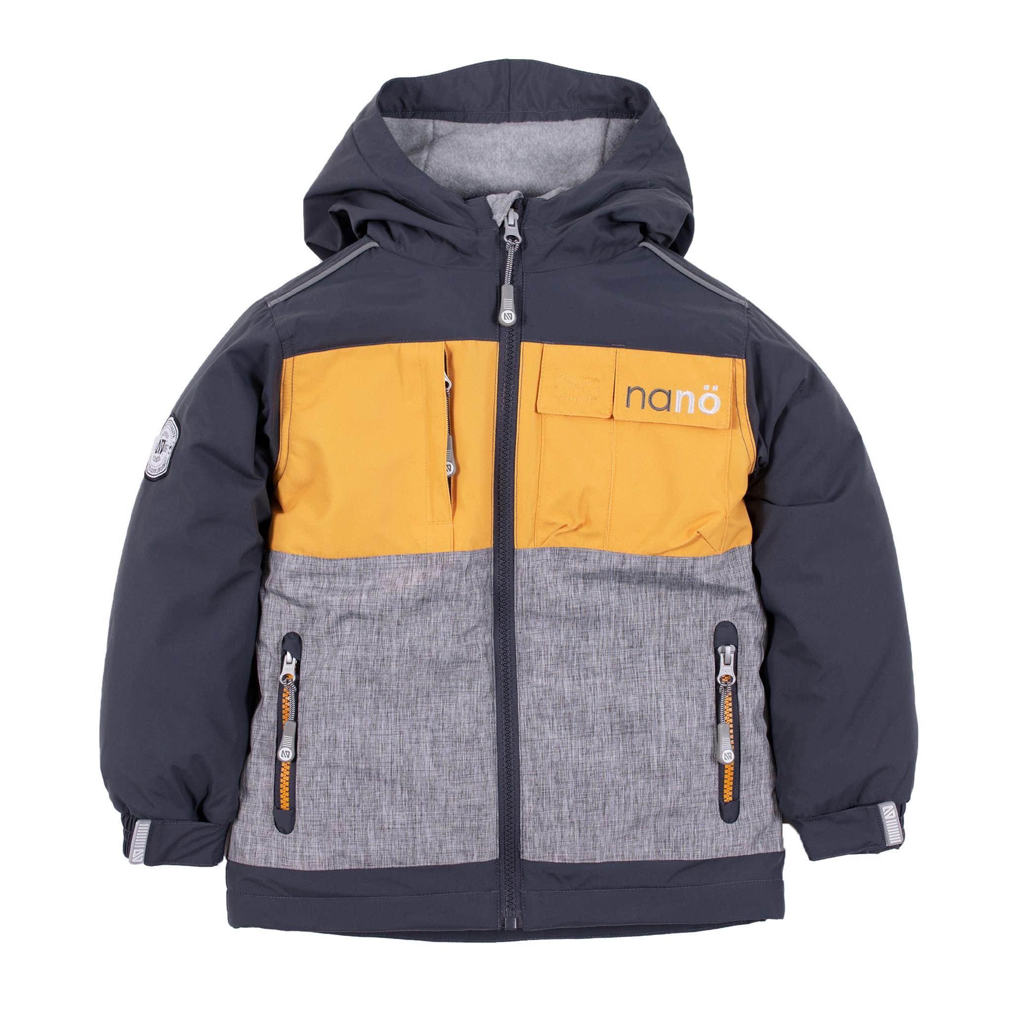 Manteau de pluie -Jaune-1