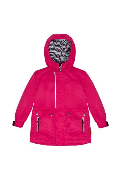 Manteau de pluie - Rose