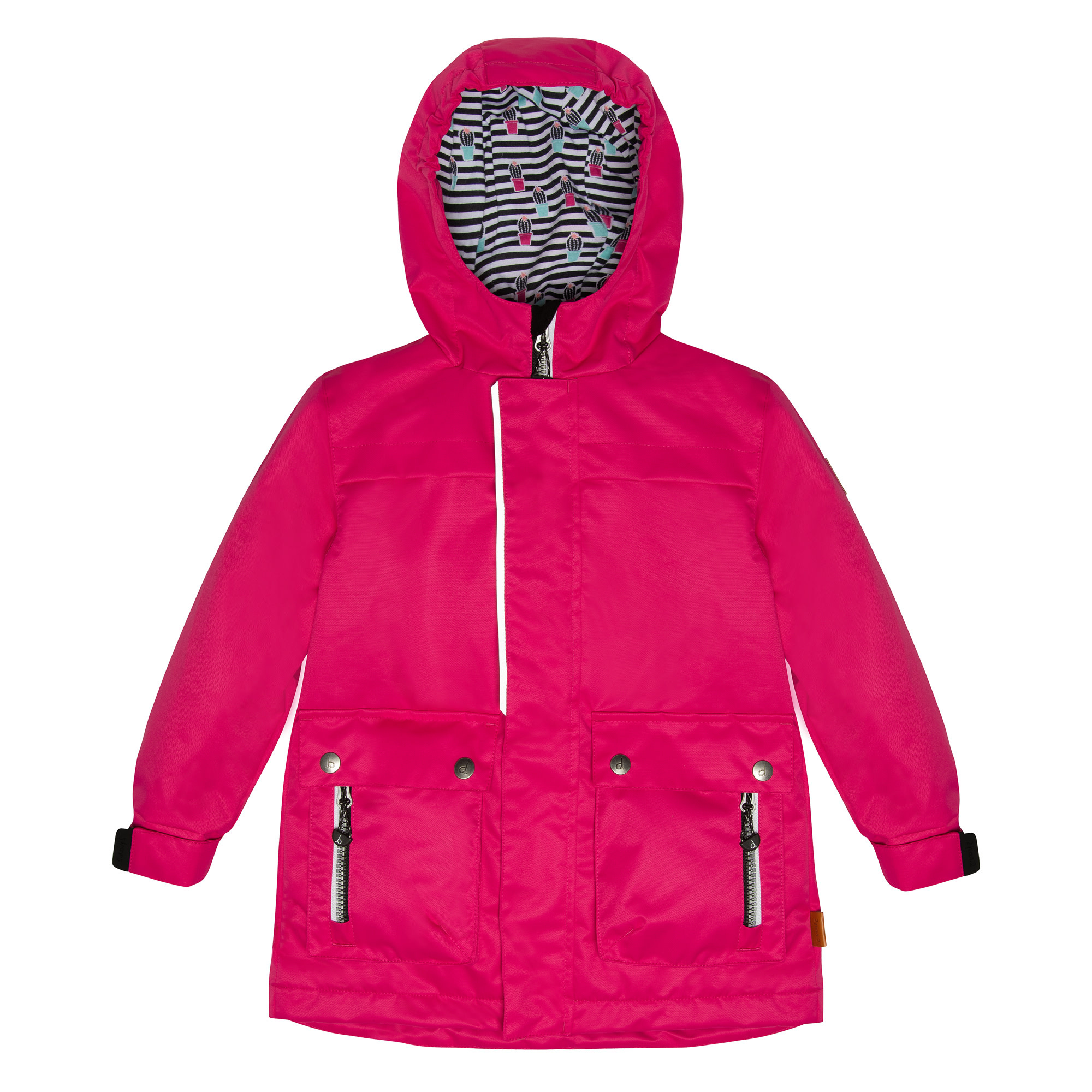 Manteau de pluie - Rose-1