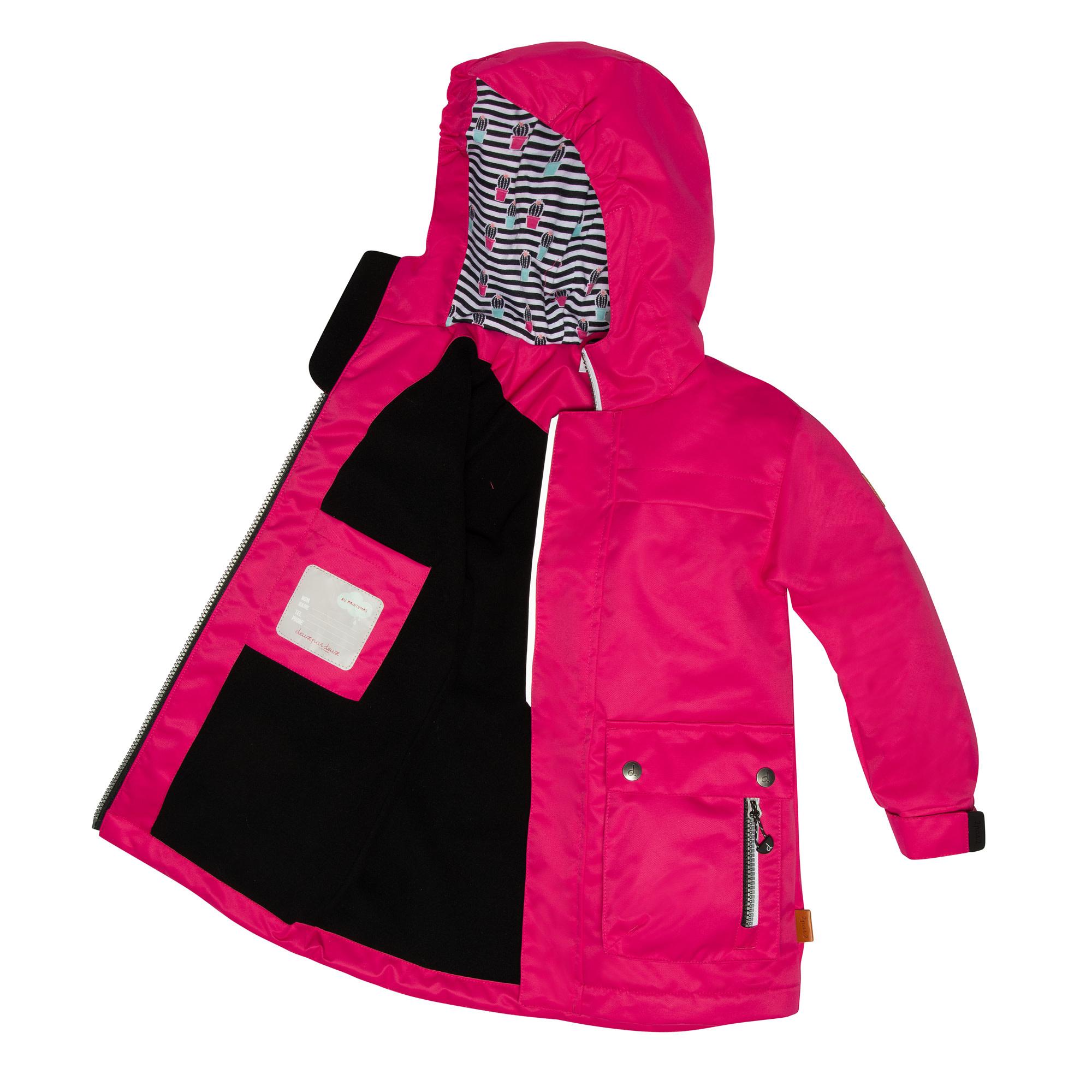 Manteau de pluie - Rose-2