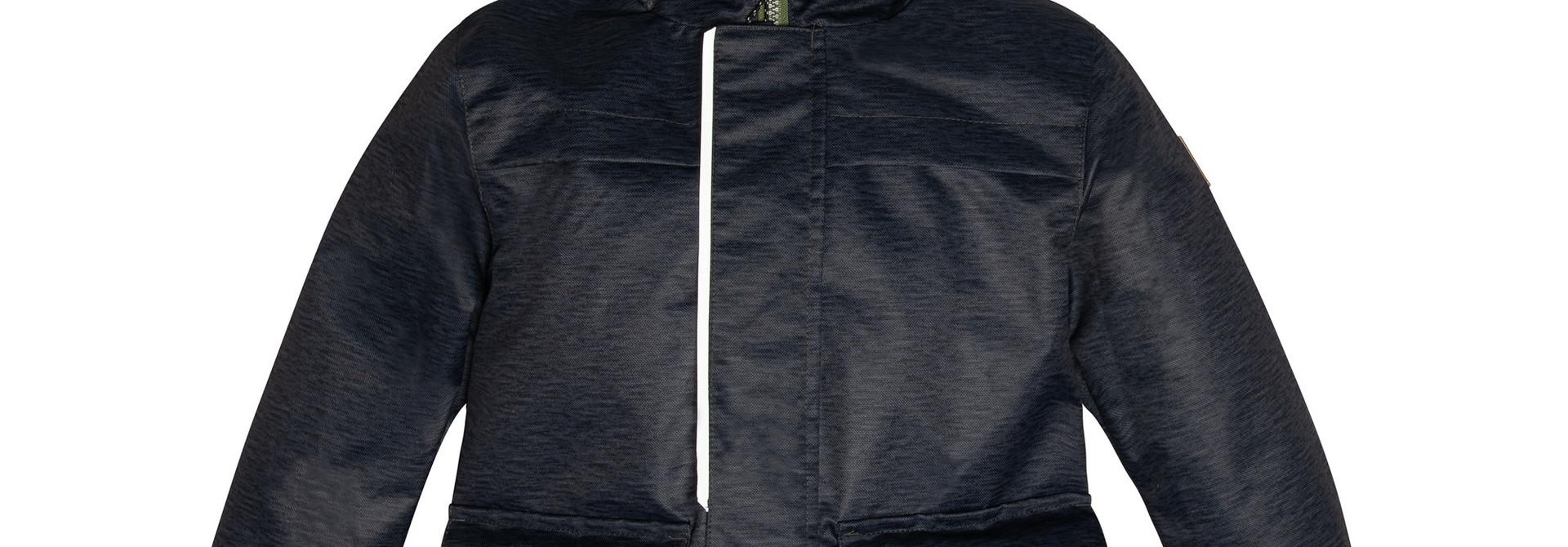 Manteau de pluie - Noir camo