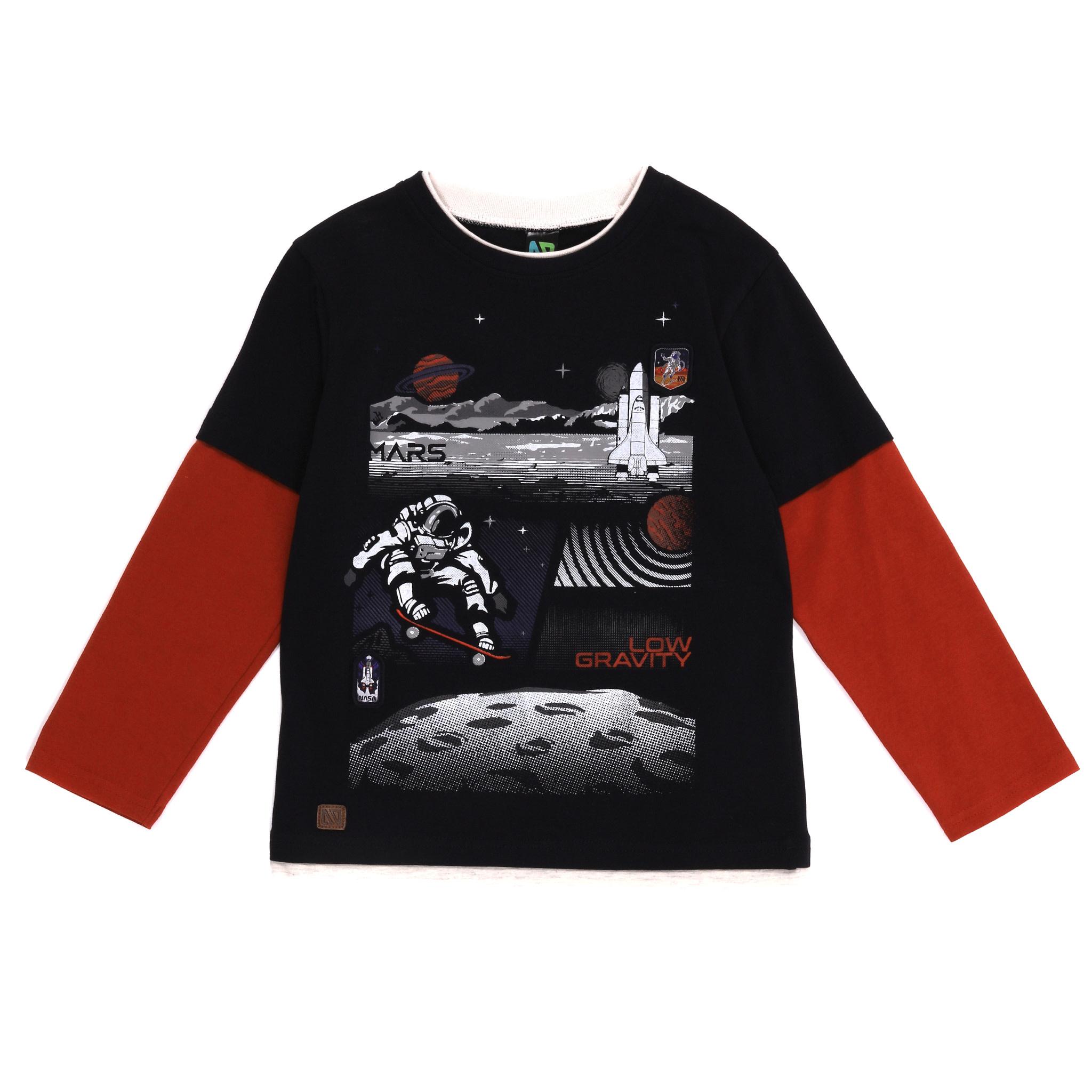T-shirt Manches longues - Mission sur Mars-1