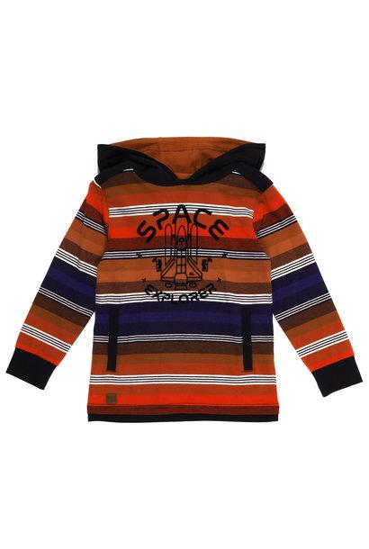 T-shirt à capuchon - Mission sur Mars