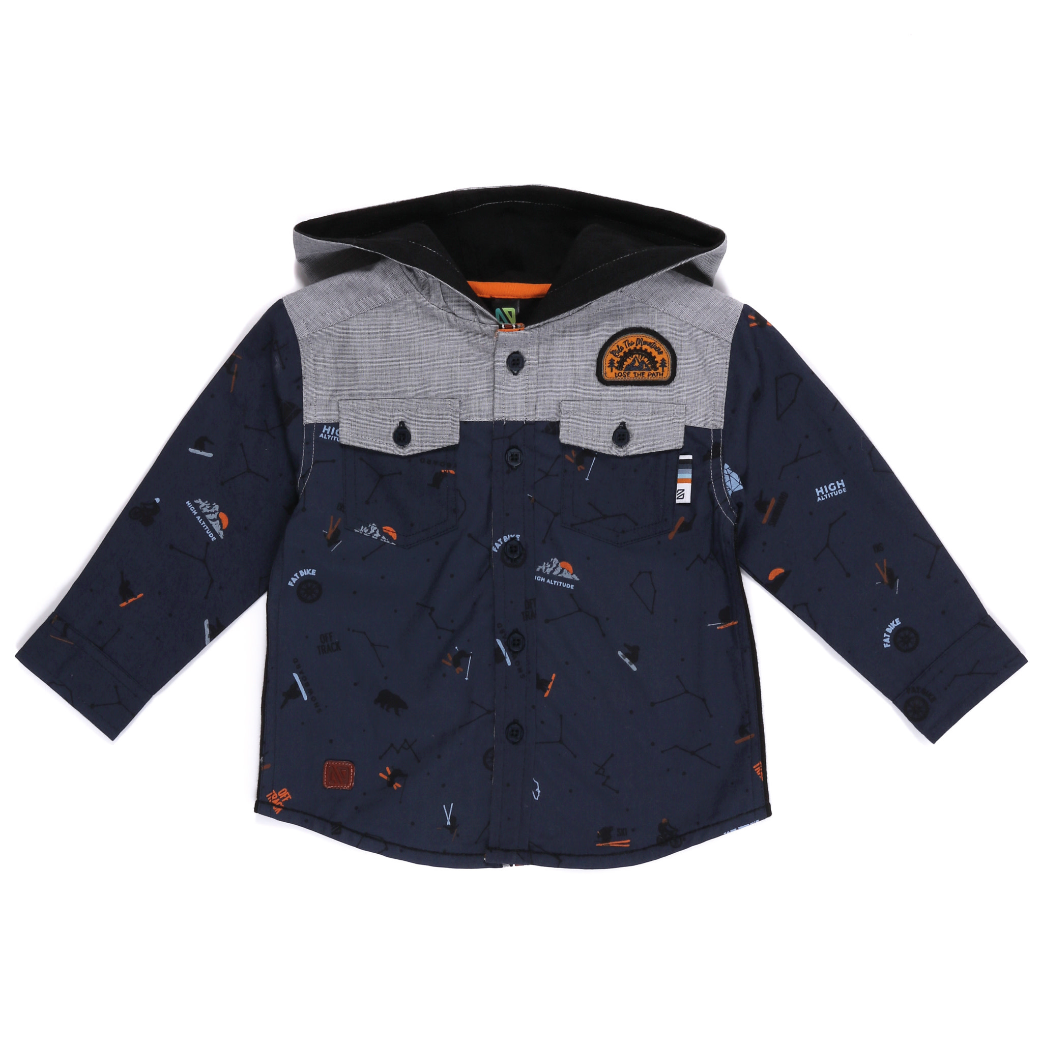 Chemise à capuchon - Roi de la Montagne-1