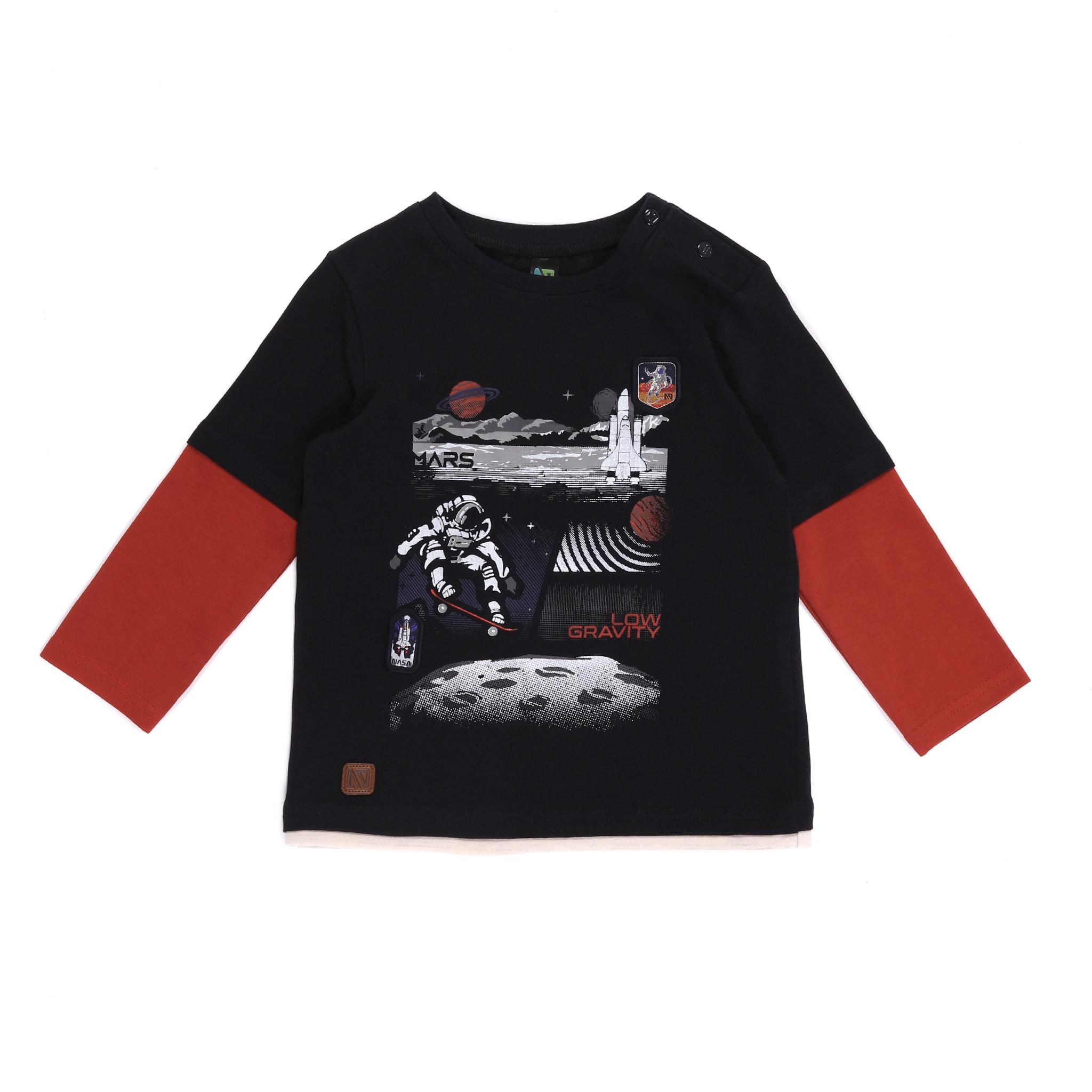 T-shirt Manches longues - Petit Astronaute-4