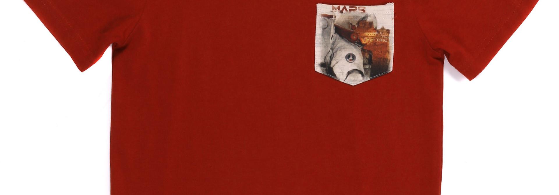 T-shirt PROMO Manches courtes - Mission sur Mars