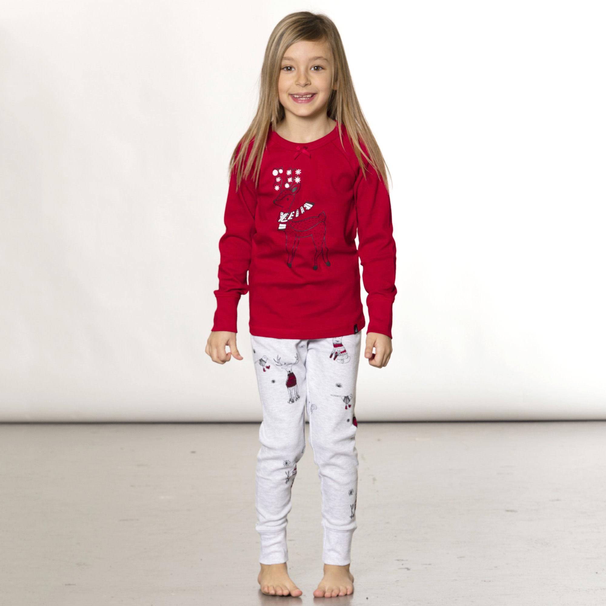 Pyjama Noël Polaire Rouge-2