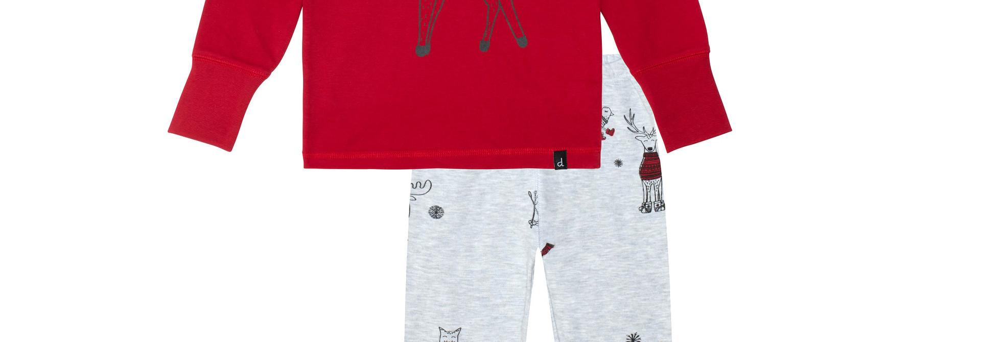 Pyjama Noël Polaire Rouge