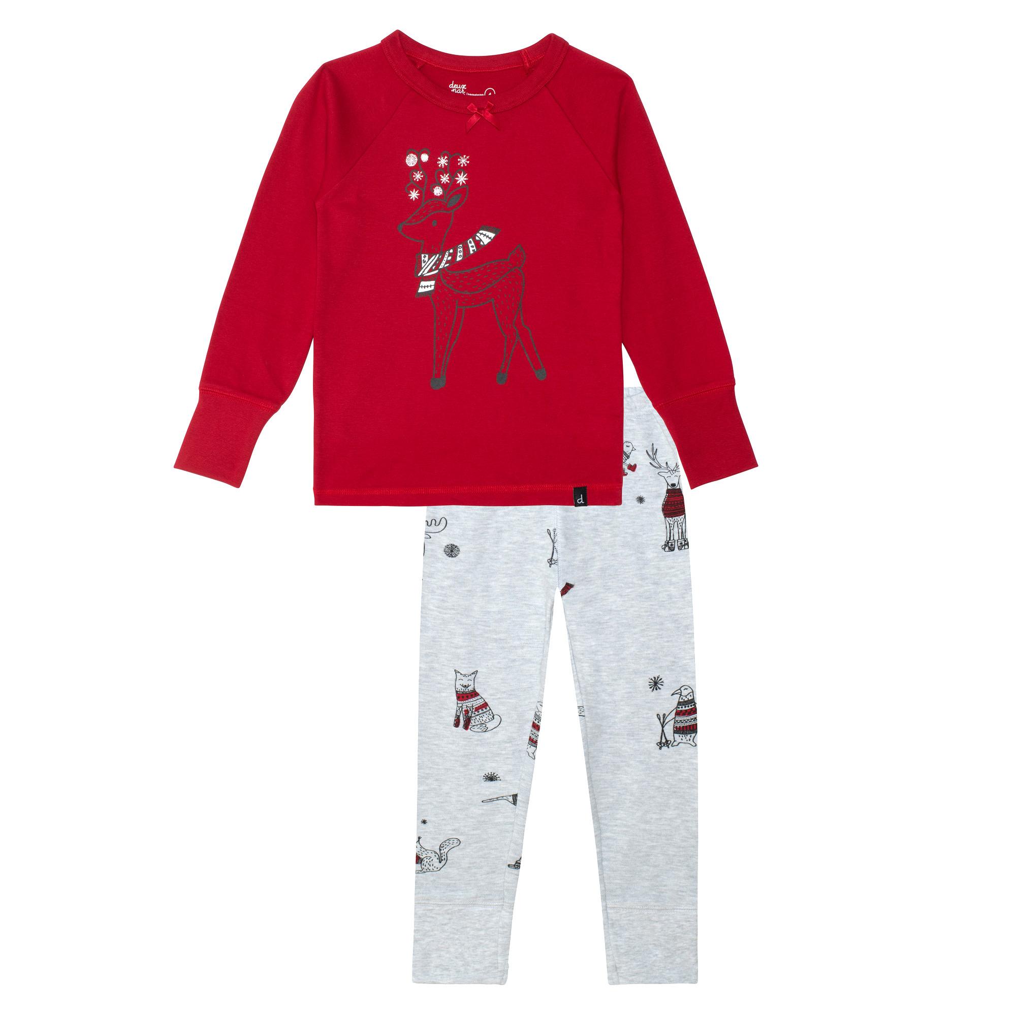 Pyjama Noël Polaire Rouge-1